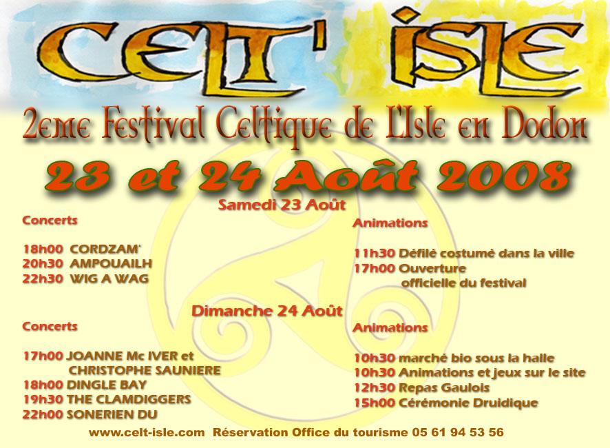 Festival celt 39 isle isle en dodon vivre en comminges - Office du tourisme salies du salat ...